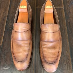 Gucci Men's Slip On Brown Loafers  Shoes 11.5